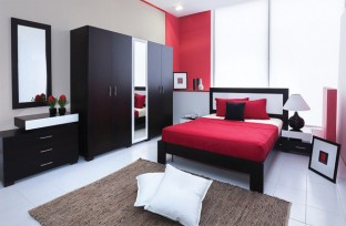 chambre couple cat gories de produits meublatex. Black Bedroom Furniture Sets. Home Design Ideas
