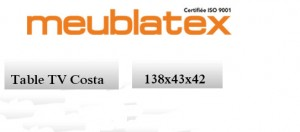 fiche-Technique-table TV-Costa-Nouvelle-Collection-Meublatex